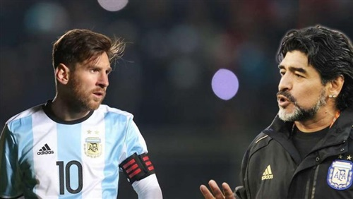 مارادونا عن ميسي: لا يصلح قائدًا فهو يذهب للحمام 20 مرة قبل المباراة !