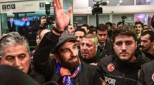 الشرطة التركية تستجوب لاعب شهير!