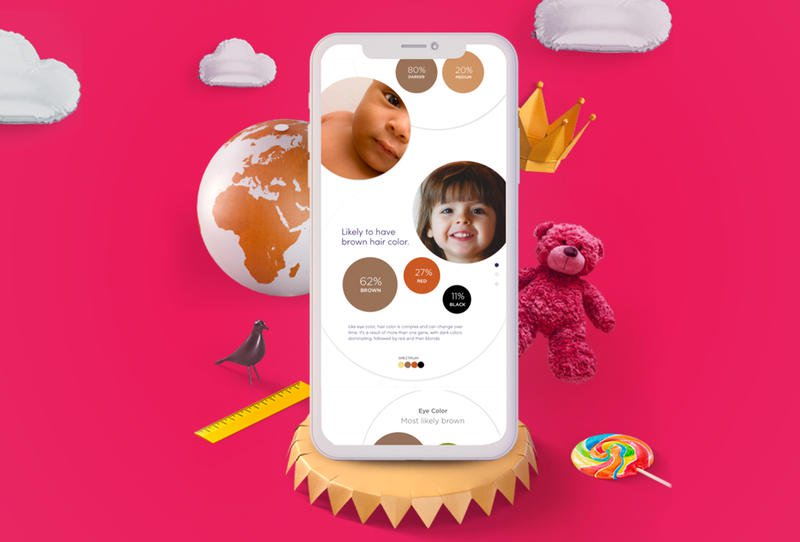 تطبيق جديد يتنبأ بشكل طفلك في المستقبل وصفاته !