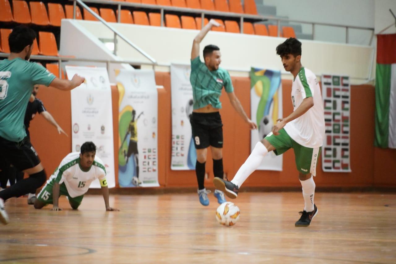منتخب جامعات السعودية الرابع في بطولة زايد لكرة الصالات