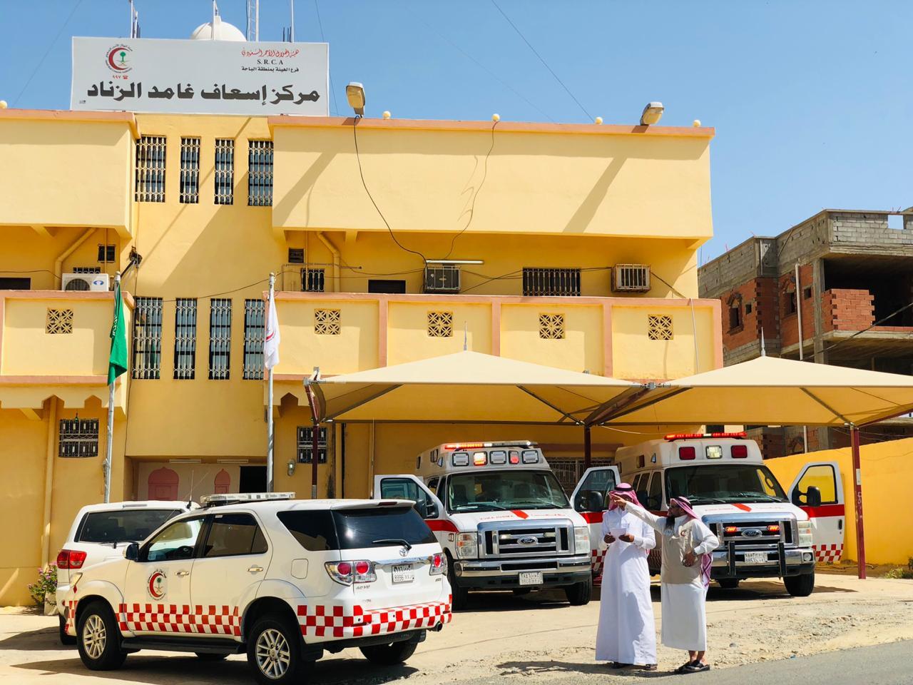 شاهد: مدير فرع الهلال الأحمر يستمع لمطالب مواطني الباحة