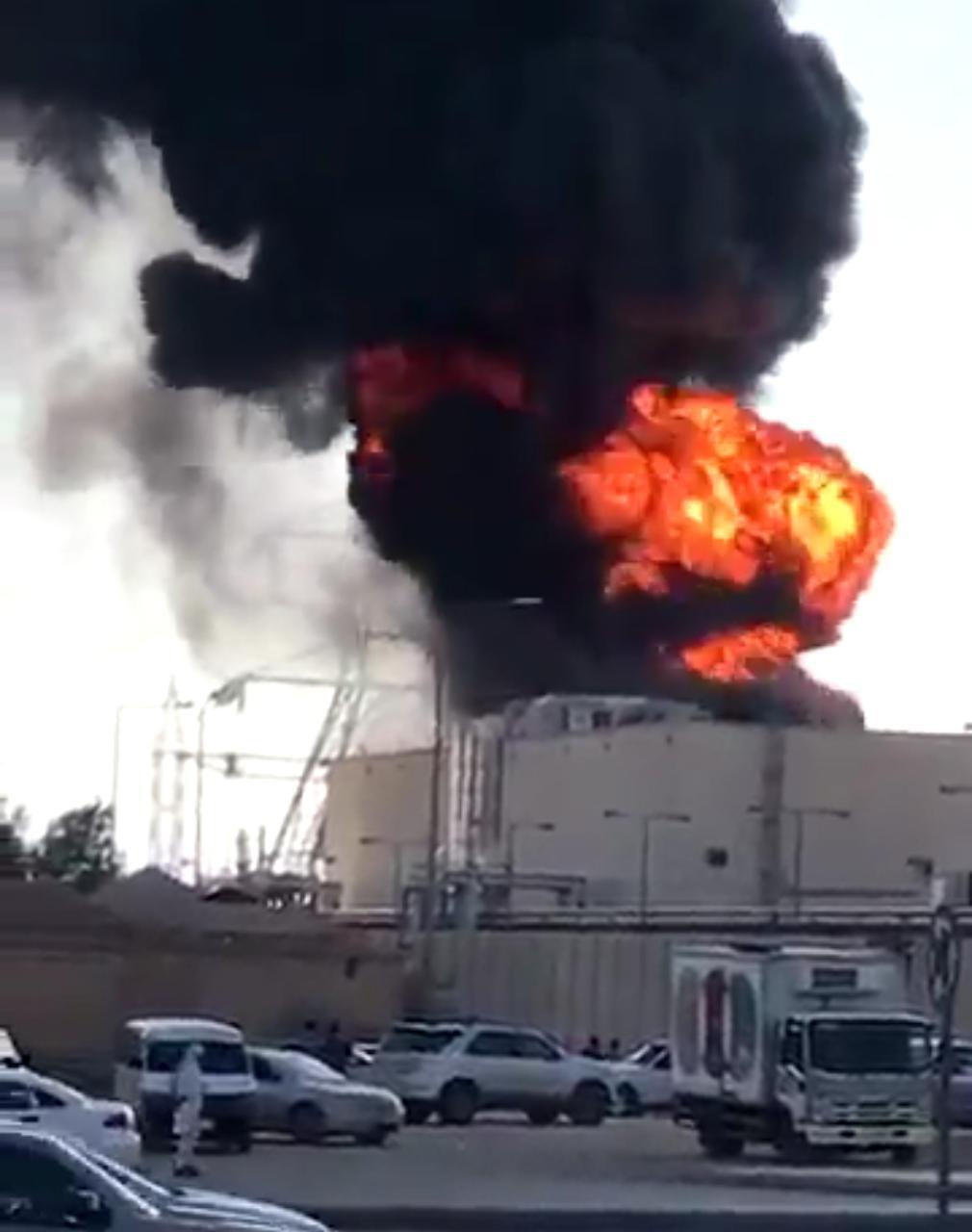 الدفاع المدني: عمليات تبريد للمحولات المحترقة في الرياض