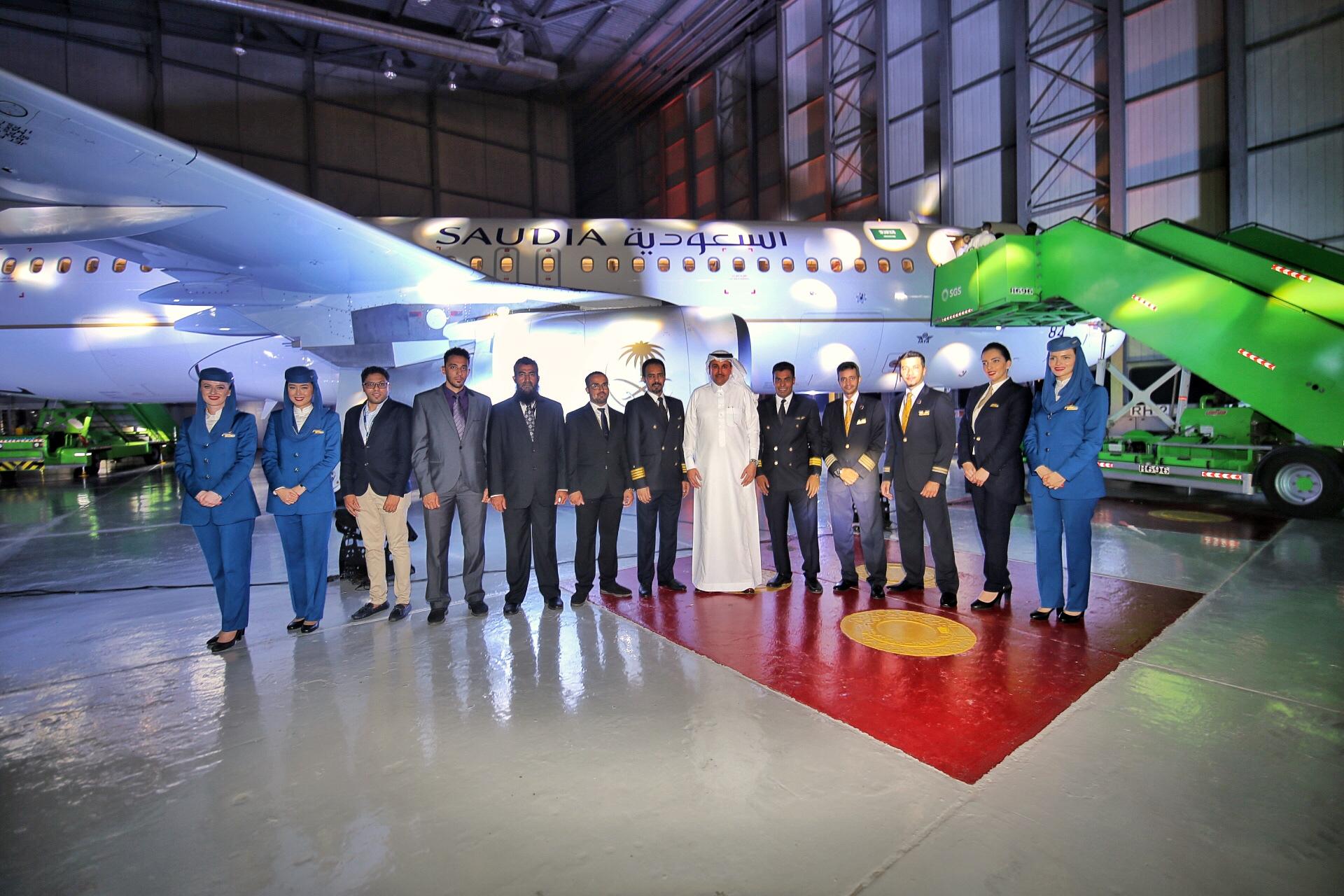 """""""الخطوط السعودية"""" تعلن اكتمال صفقة الـ (50) طائرة مع """"ايرباص"""""""