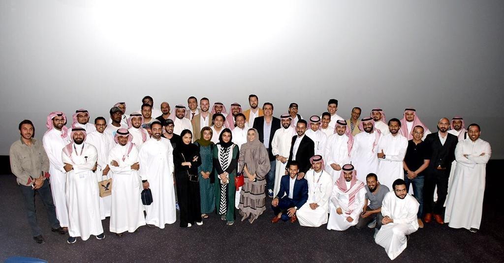 150 موهبة سعودية تلتقي المنتج الأمريكي جيفري غرينستن