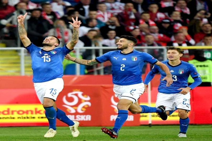 إيطاليا تتنفس الصعداء في أمم أوروبا