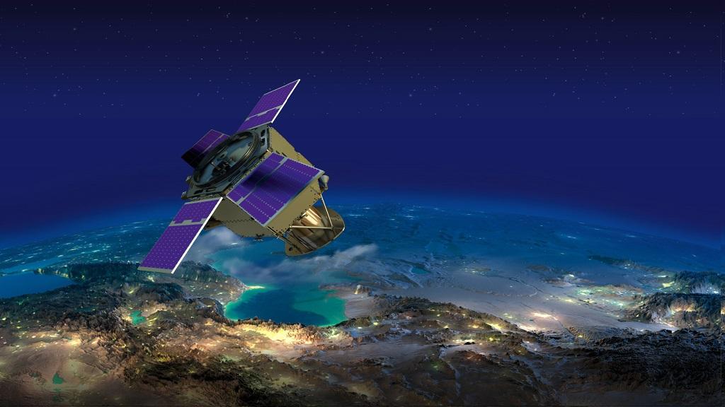 الإمارات تطلق القمر الصناعي «خليفة سات»