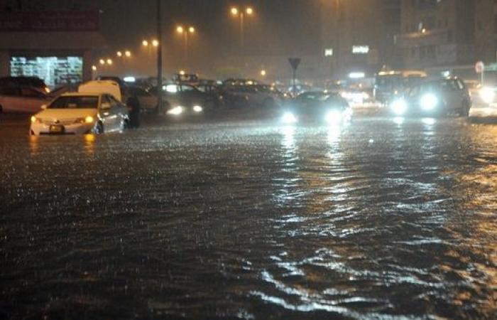 أمطار على الرياض وتيماء والباحة