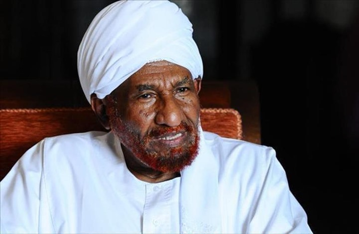 السودان: الصادق المهدي يقترح مجلس سيادة بأغلبية مدنية ورئاسة عسكرية