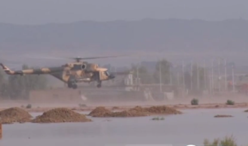 سيول تجتاح 20 قرية على الحدود العراقية مع إيران وتدمير عشرات المنازل