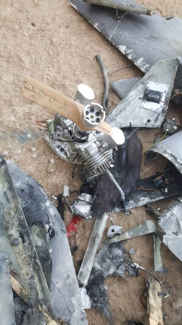 الجيش اليمني يسقط طائرة مسيّرة تابعة لميليشيا الحوثي شرقي صنعاء
