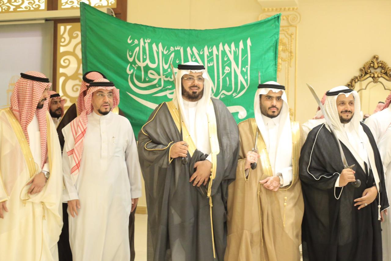 الصواط يحتفل بعقد قرانه في مكة المكرمة