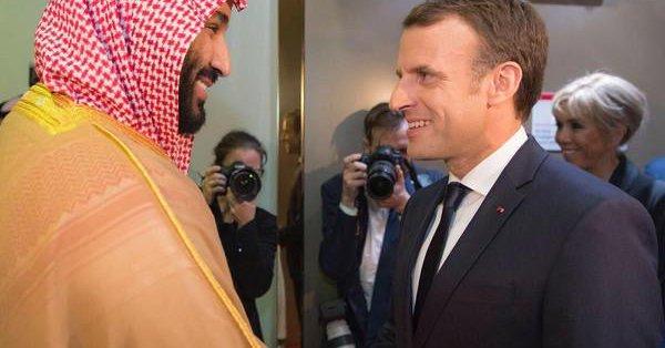 ماكرون يعلن أنه سليتقي ولي العهد محمد بن سلمان على هامش قمة العشرين