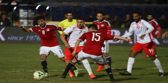 مشاهدة مباراة مصر وتونس بث مباشر اليوم الجمعة 16 11 2018 في