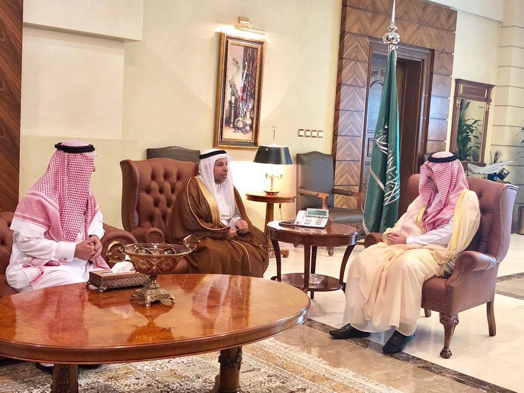 محافظ جدة يستقبل مدير جامعة الملك عبدالعزيز