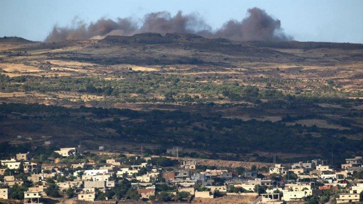 لم تبلغ هدفها.. قوات موالية لإيران في سوريا أطلقت قذائف باتجاه اسرائيل