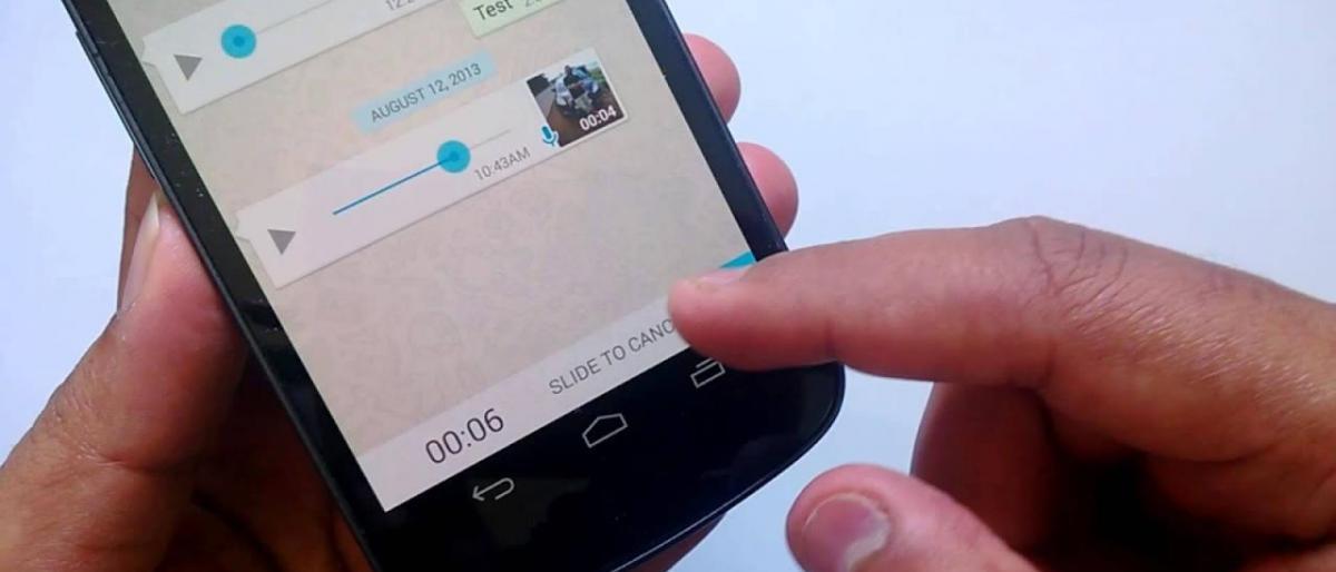 """""""واتساب"""" يطور ميزة جديدة للرسائل الصوتية"""