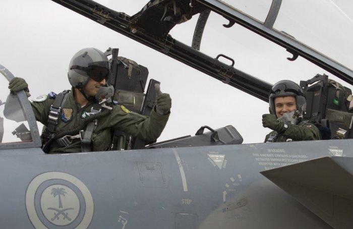 القوات الجوية الملكية تستعد لتمرين العلم الأخضر السعودي البريطاني