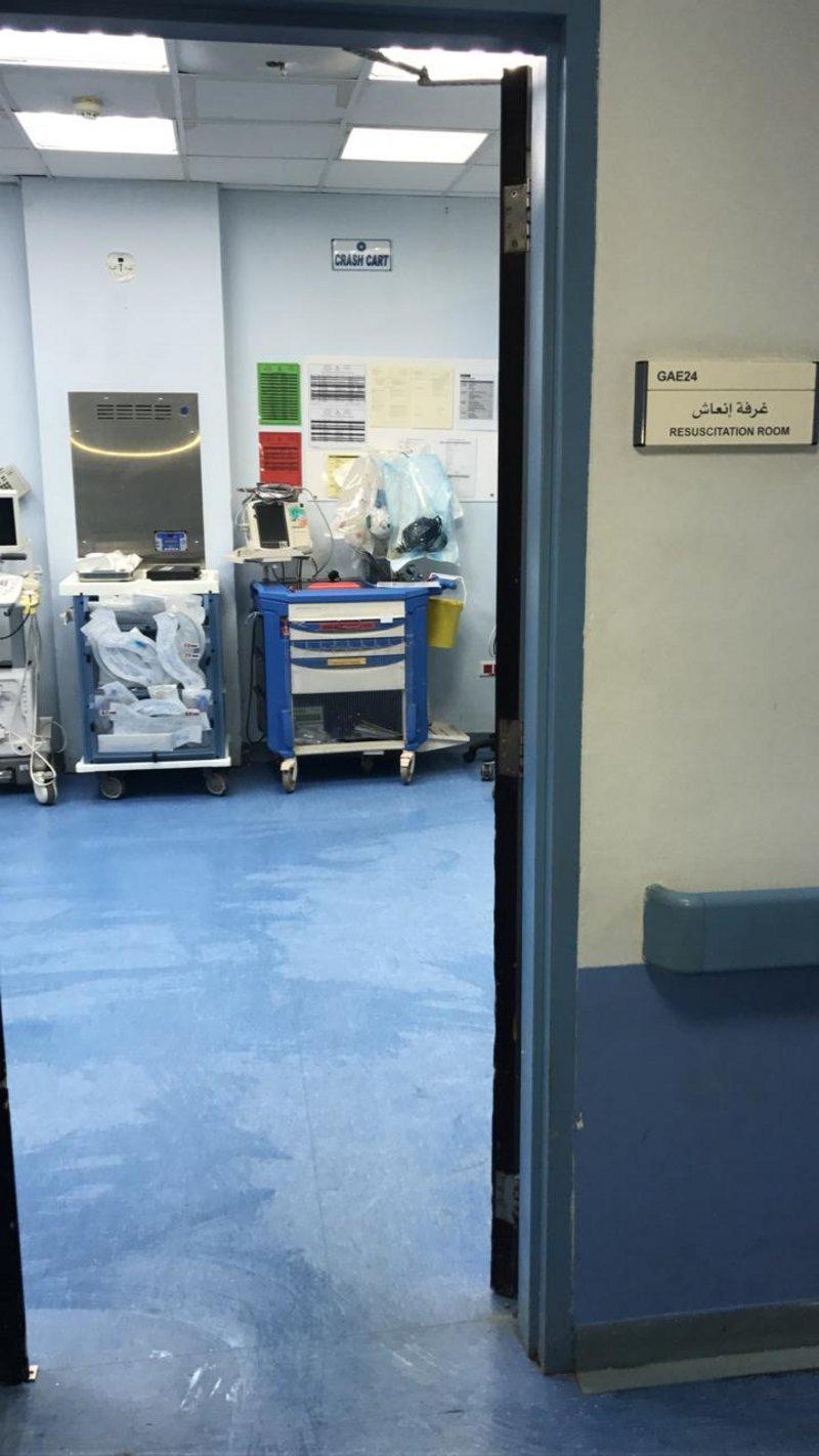 الأمطار توقف غرفة الإنعاش بمستشفى تيماء عن العمل