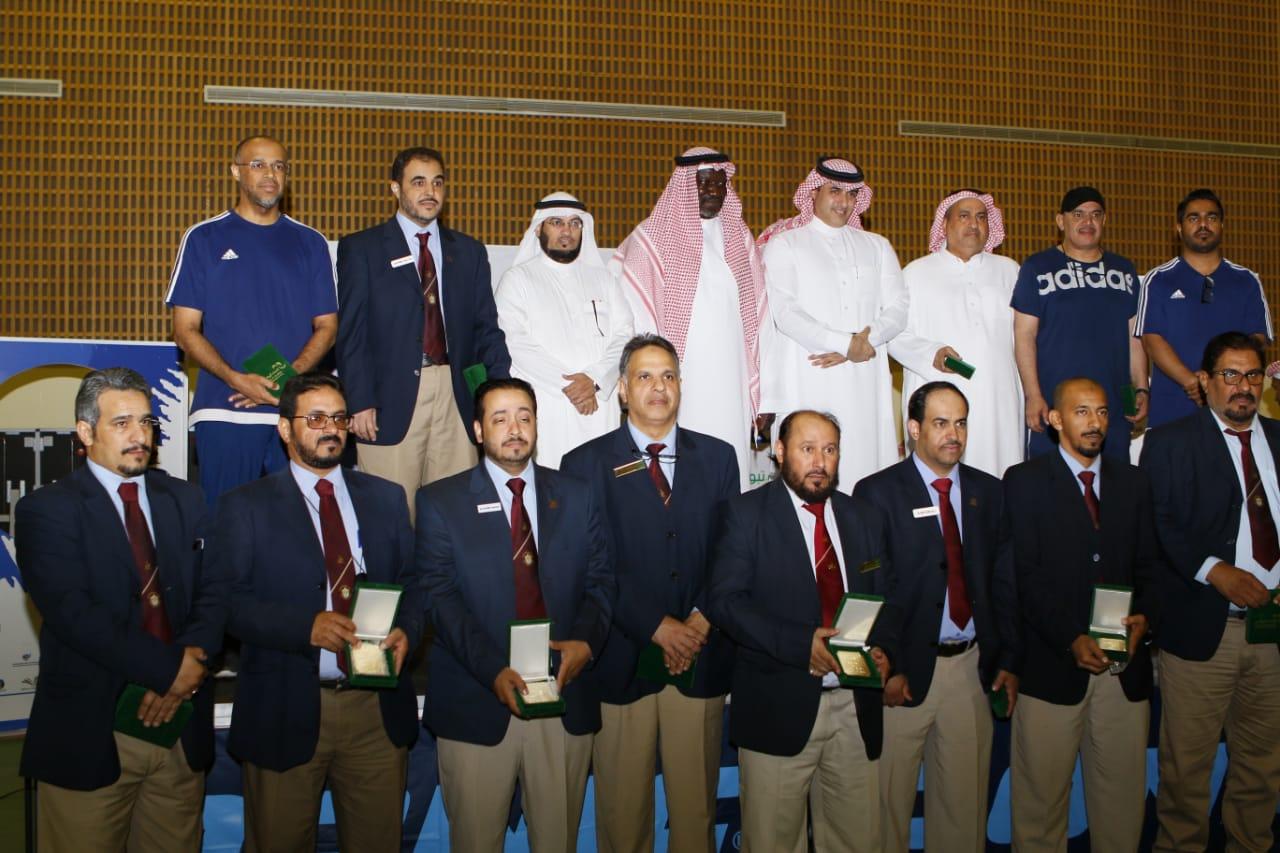 جامعة الإمام عبدالرحمن بن فيصل تتوج ببطولة كرة الطاولة للجامعات