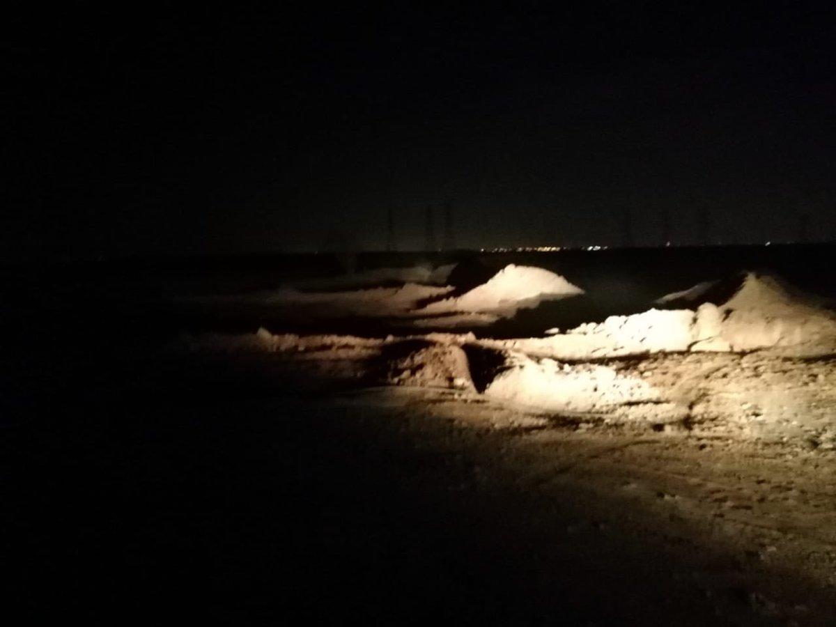 بالصور: القبض على أشخاص يقومون بتجريف أراضي الرياض