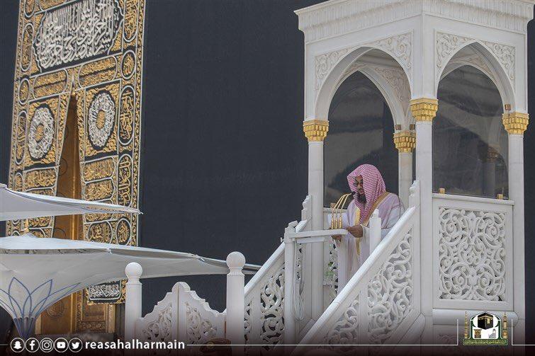 الشيخ سعود الشريم: لسان المسلم ينبغي أن يكون كالمرآة لمجتمعه