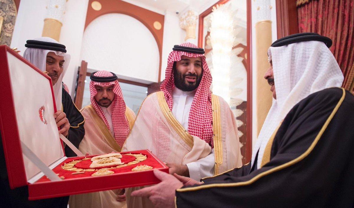 """10 معلومات عن """"أعلى وسام في البحرين"""" الذي حصل عليه الأمير محمد بن سلمان"""