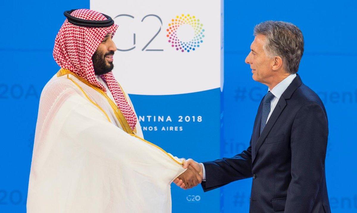 صور .. ولي العهد في لقاءات ودية مع رؤساء وفود مجموعة العشرين