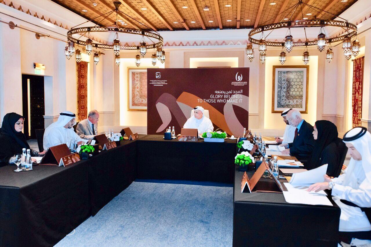 مجلس أمناء جائزة الإبداع الرياضي يستعرض تقارير اللجان والاستعدادات لتكريم الفائزين