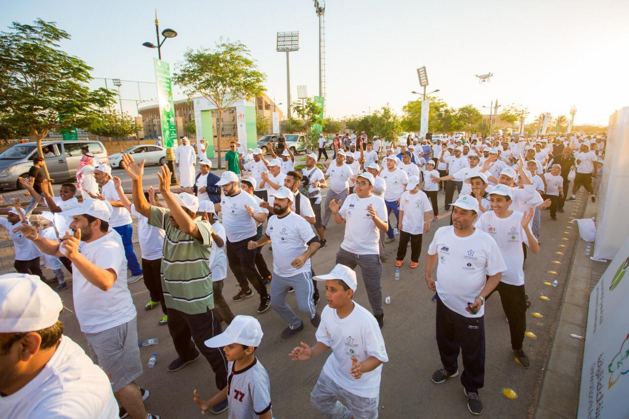 وقت اللياقة يشارك هيئة الرياضة في اليوم العالمي للمشي