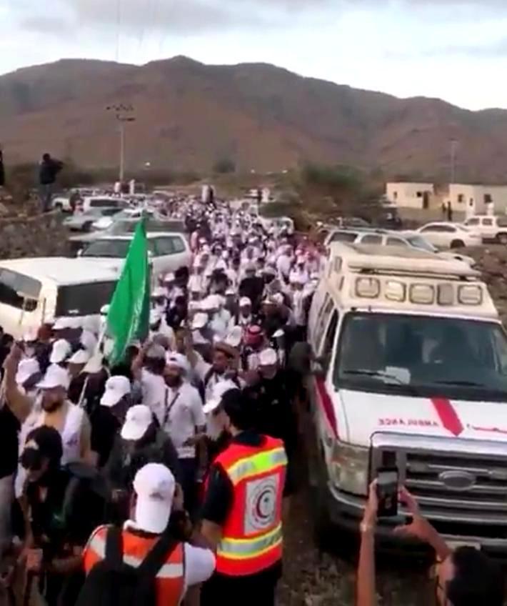 الهلال الاحمر يشارك بفعاليات «هايكنج» محافظة الكامل