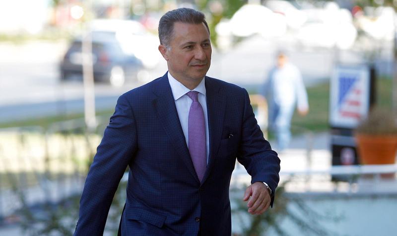 رئيس وزراء مقدونيا يطلب اللجوء في سفارة مجرية