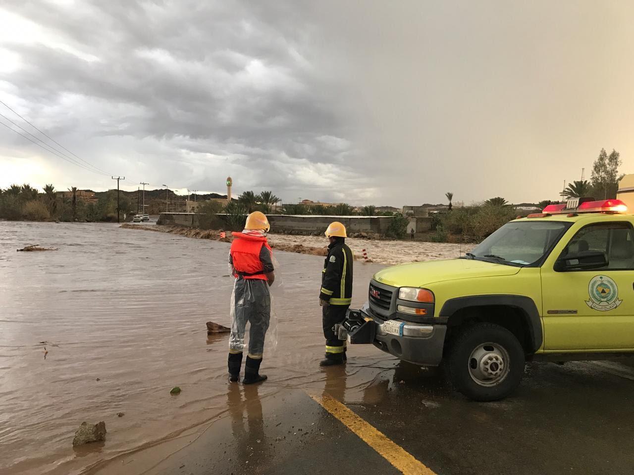 هطول أمطار رعدية بمرتفعات جازان وعسير والباحة
