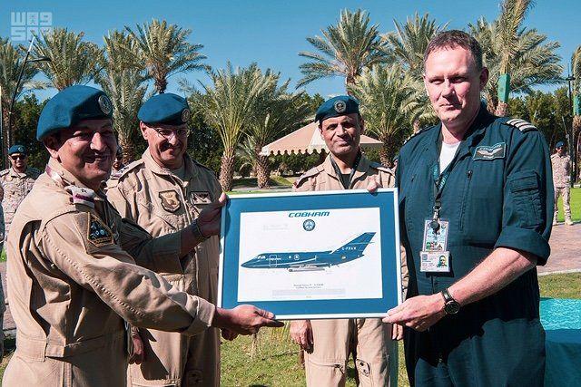 اختتام مناورات تمرين العلم الأخضر السعودي البريطاني في قاعدة الملك فهد الجوية