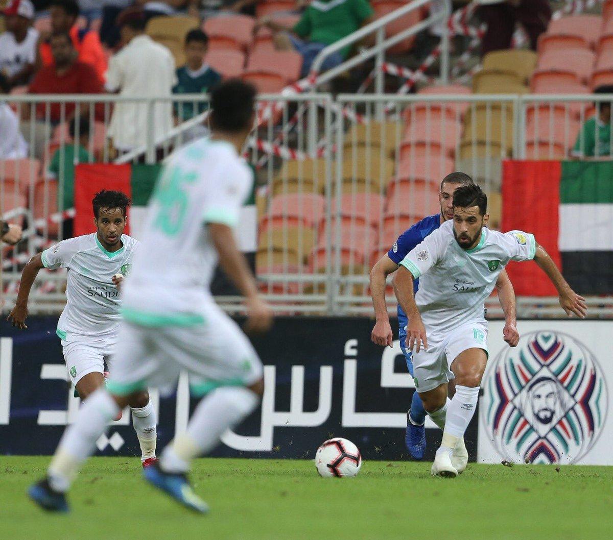 الأهلي السعودي إلى دور الثمانية بكأس زايد للأندية الأبطال بعد التعادل مع وفاق سطيف