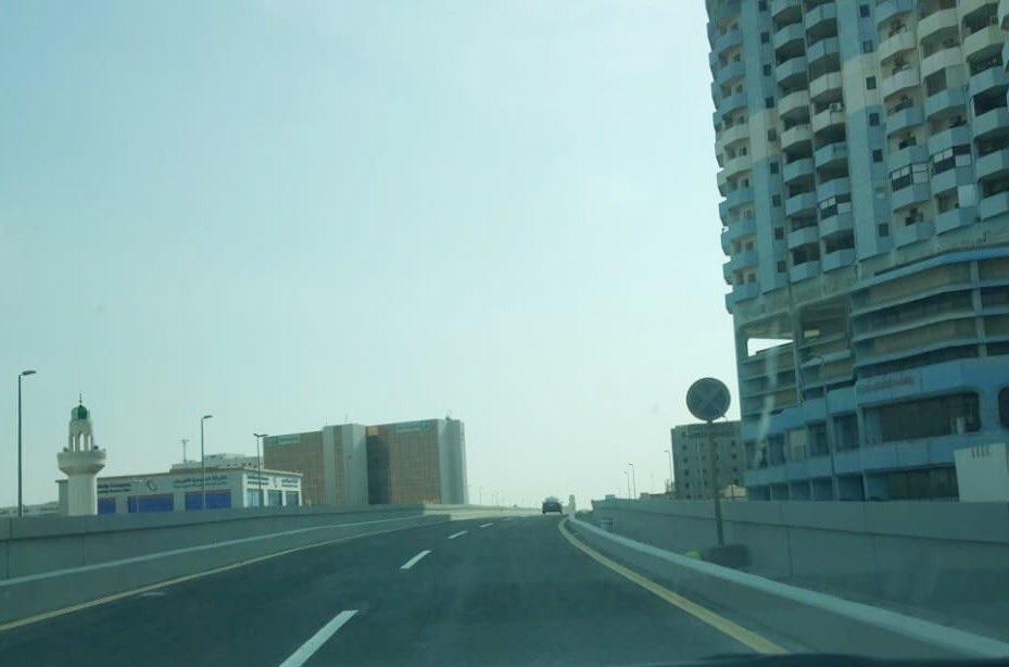 افتتاح جسر طريق الملك خالد في جدة