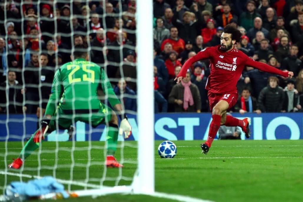 محمد صلاح يقود ليفربول لدور الـ 16 في دوري أبطال أوروبا