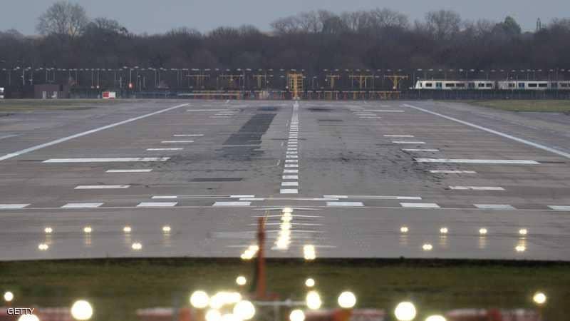 """إغلاق مطار غاتويك في لندن  بسبب """"أنشطة إجرامية"""""""