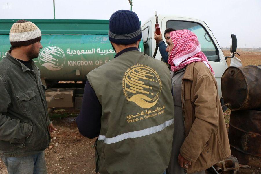 206 آلاف مستفيد سوري من مساعدات مركز الملك سلمان