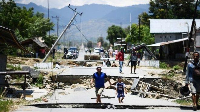 زلزال قوي يضرب جزيرتي لومبوك وبالي الإندونيسيتين