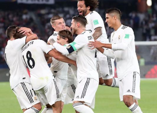 ريال مدريد بطلا لكأس العالم للأندية بعد فوزه على العين الإماراتي برباعية