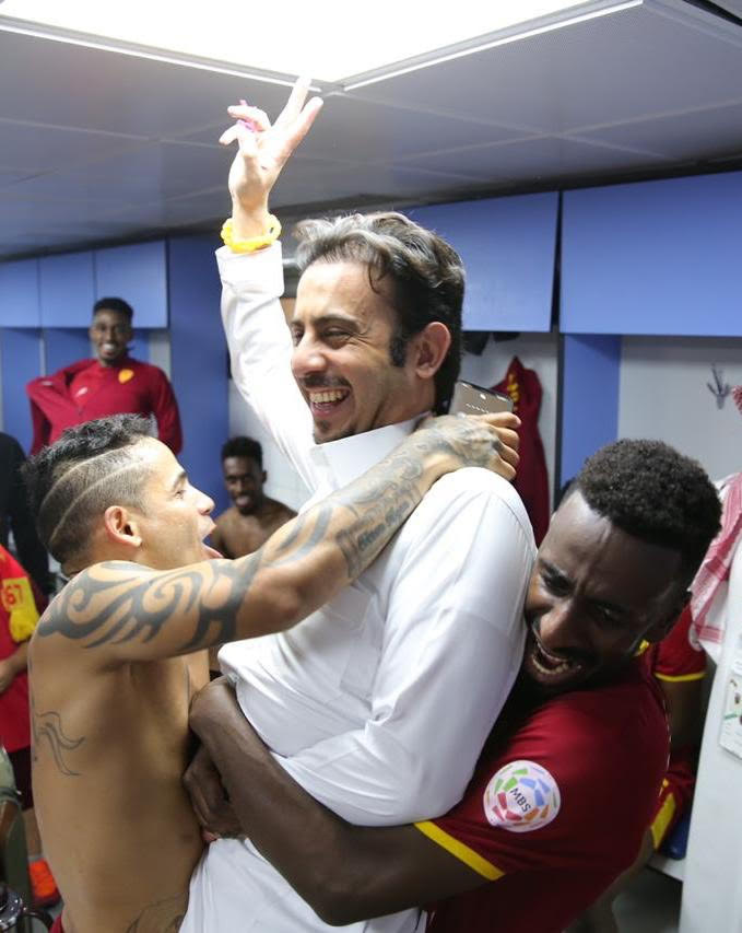 الزامل: لاعبو القادسية أوفوا بوعدهم