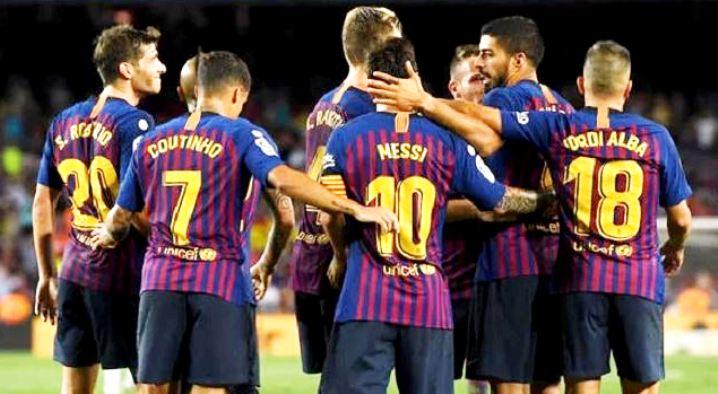 مشاهدة مباراة برشلونة وكولتورال ليونيسا بث مباشر 5-12-2018 كأس ملك اسبانيا