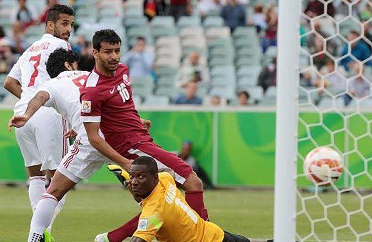 مشاهدة مباراة الإمارات وقطر بث مباشر