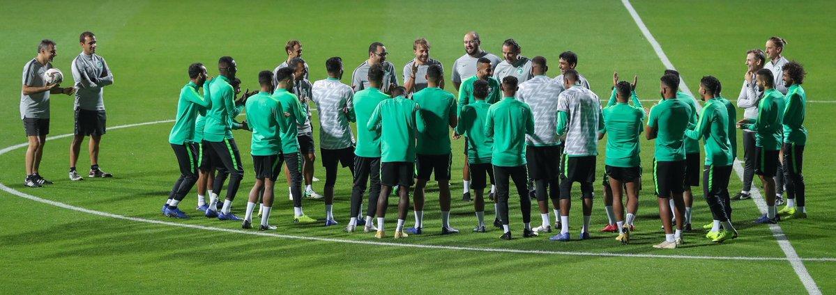 الأخضر يواصل استعداداته للبنان.. واتحاد الكرة يبدأ توزيع تذاكر المباراة المجانية
