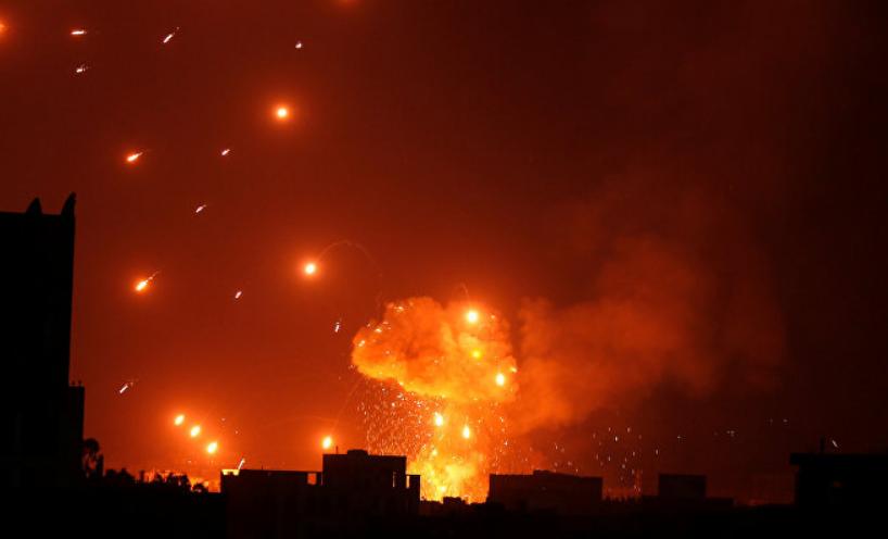 مصرع عشرات الحوثيين وتدمير آليات قتالية في غارات للتحالف العربي بصعدة
