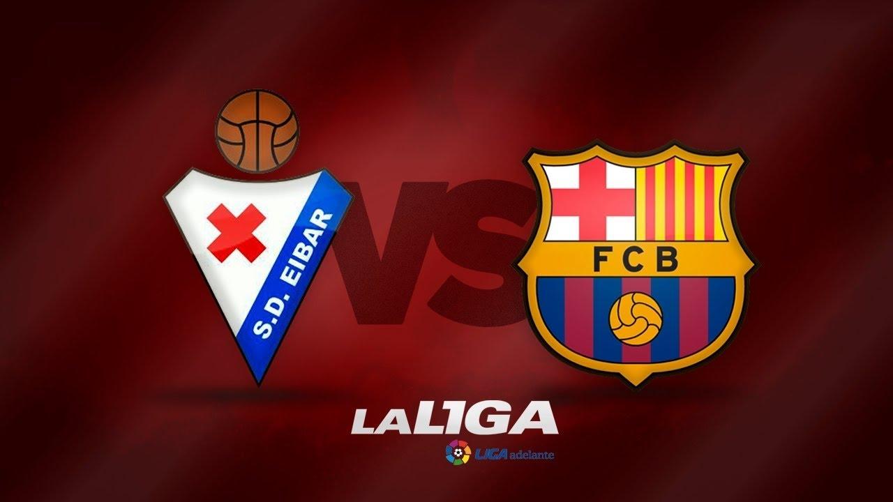 مشاهدة مباراة برشلونة وايبار بث مباشر في الدوري الإسباني