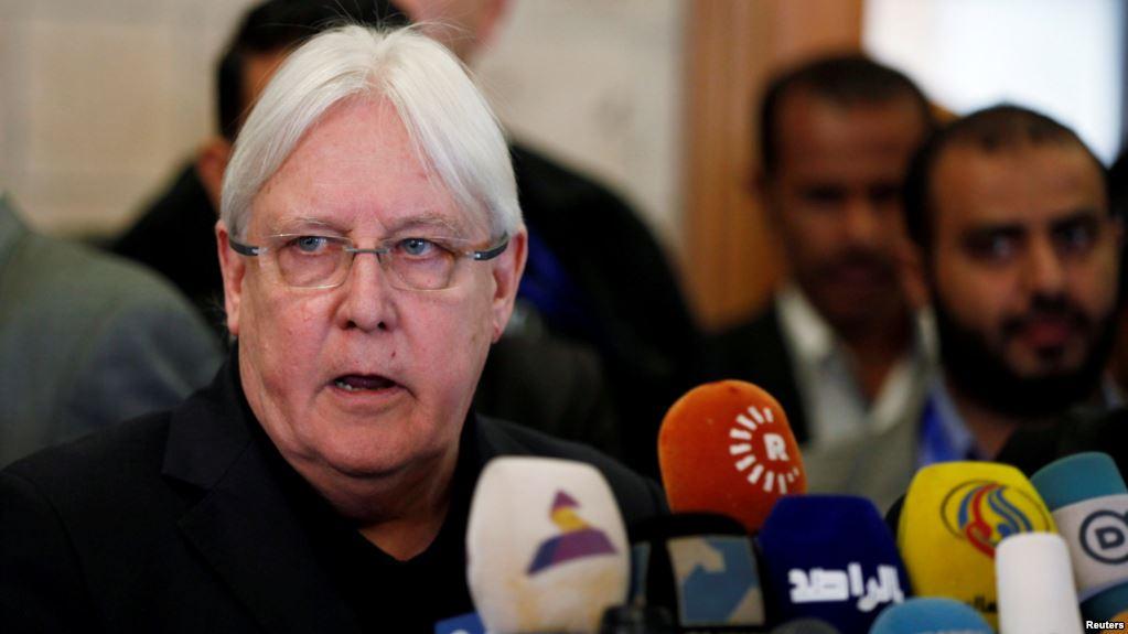المبعوث الأممي يصل الرياض لبحث التطبيق السريع لاتفاق الحديدة