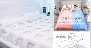 كيف يمكنك التحكم في درجة حرارة غطاء النوم؟.. إليك هذا الابتكار