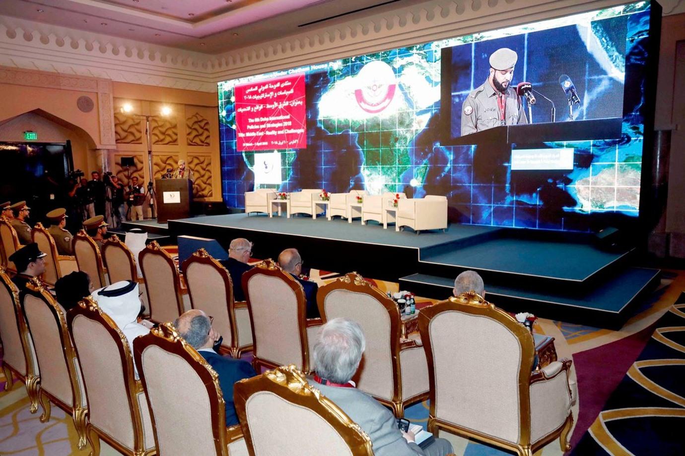 دراسة أمريكية: منتدى الدوحة يوفر منصة إعلامية لإرهاب إيران