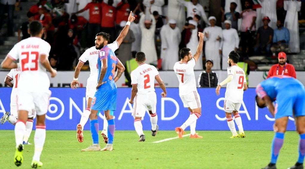 الإمارات تتخطى الهند بهدفين وتتأهل لدور الـ 16 في كأس آسيا 2019